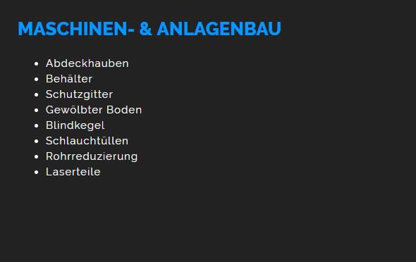 Maschinenbau, Anlagenbau in  Schwaikheim, Remseck (Neckar), Waiblingen, Affalterbach, Winnenden, Leutenbach, Korb oder Burgstetten, Weinstadt, Kirchberg (Murr)